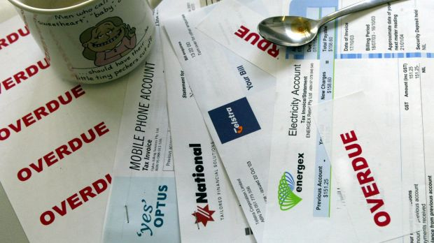 Australians are contacted by debt collectors more than 65 million times a year. Photo: Robert Rough